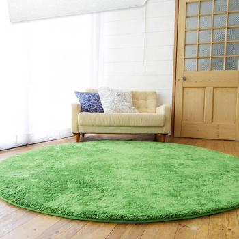 Ковер круглый зеленый Round Green Grass Carpet