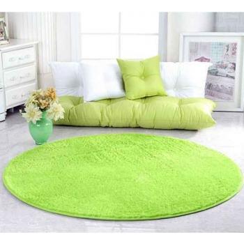Яркий салатовый ковер JumKids Sweet Lime
