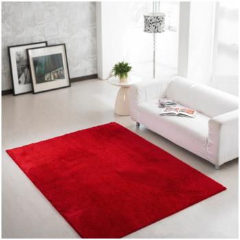 Красный прямоугольный ковер JumKids Sweet Wine